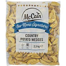 Πατάτες MCCAIN country με μυρωδικά κατεψυγμένες (2,5kg)