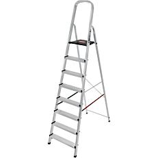Σκάλα PALBEST Hobby αλουμινίου, 7+1 σκαλιών