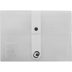 Φάκελος εγγράφων με κουμπί Α5 PP διαφανής