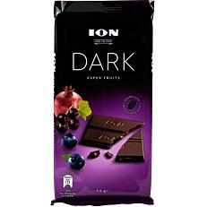 Σοκολάτα ΙΟΝ Dark υγείας super fruits (90g)