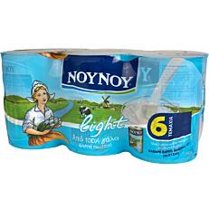 Γάλα ΝΟΥΝΟΥ εβαπορέ light (6x400ml)