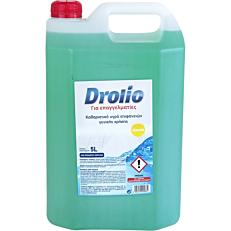 Καθαριστικό DROLIO Ultra για το πάτωμα με άρωμα λεμόνι, υγρό (5lt)