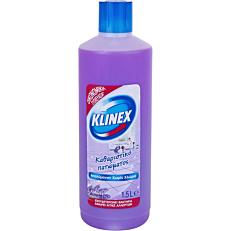 Καθαριστικό KLINEX για το πάτωμα με άρωμα λεβάντα, υγρό (1,5lt)