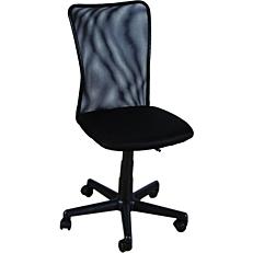 Καρέκλα STAMPA γραφείου mesh μαύρη