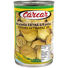 Κονσέρβα CARCAR αγκινάρες καρδιές (390g)