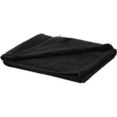 Πετσέτα YASEMI προσώπου 100% βαμβακερή μαύρη 50x100cm
