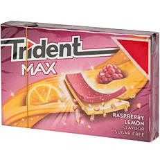 Τσίχλες TRIDENT Max βατόμουρο λεμόνι