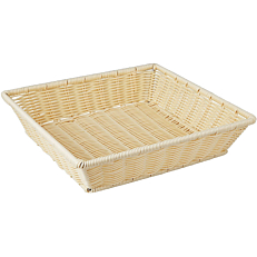 Ψωμιέρα Rattan 35,5x32,5x8(Y)cm