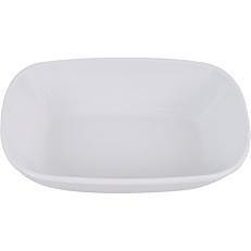 Ραβιέρα μελαμίνης KULSAN λευκή 20x14x4,5cm