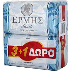 Σαπούνι ΕΡΜΗΣ classic (4x125g)