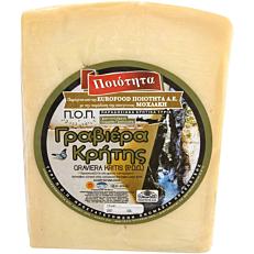 Τυρί ΜΟΧΛΑΚΗ γραβιέρα Κρήτης (~2,5kg)
