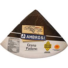 Τυρί AMBROSI grana padano δεκάμηνης ωρίμανσης Ιταλίας (~4kg)