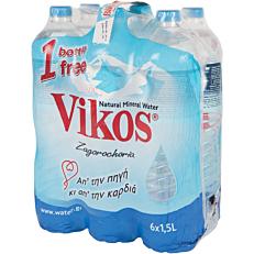Νερό ΒΙΚΟΣ φυσικό μεταλλικό (6x1,5lt)