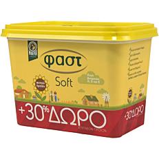 Μαργαρίνη ΦΑΣΤ soft +30% ΔΩΡΕΑΝ προϊόν (8x500g)