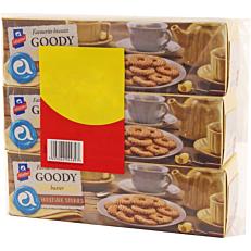 Μπισκότα ΑΛΛΑΤΙΝΗ Goody βουτύρου (3x175g)