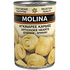 Κονσέρβα MOLINA αγκινάρες καρδιές (400g)