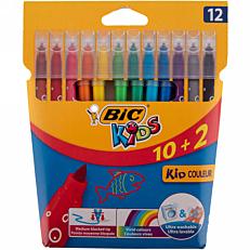 Μαρκαδόροι BIC kids (12τεμ.)