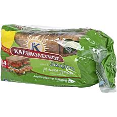 Ψωμί ΚΑΡΑΜΟΛΕΓΚΟΣ τοστ σίκαλης (340g)