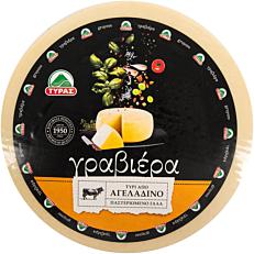 Τυρί ΤΥΡΑΣ γραβιέρα αγελάδος (~5,5kg)