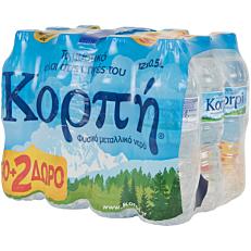 Νερό ΚΟΡΠΗ φυσικό μεταλλικό (12x500ml)
