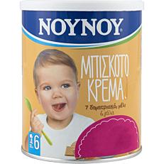 Παιδική κρέμα ΝΟΥΝΟΥ μπισκότο -1,20€