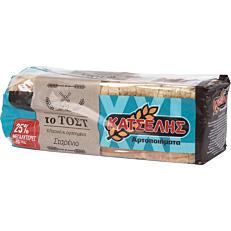 Ψωμί ΚΑΤΣΕΛΗΣ τοστ σταρένιο (900g)