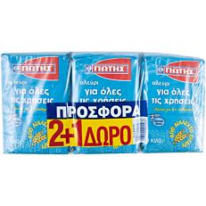 Αλεύρι ΓΙΩΤΗΣ 2+1ΔΩΡΟ (3x1kg)