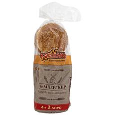 Ψωμί ΚΑΤΣΕΛΗΣ για burger (6τεμ.)