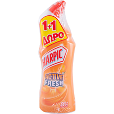 Καθαριστικό HARPIC Active Fresh peach (2x750ml)