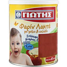 Παιδική κρέμα ΓΙΩΤΗΣ φαρίν λακτέμε μήλο και αχλάδι 6+ μηνών