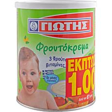 Φρουτόκρεμα ΓΙΩΤΗΣ με 5 φρούτα (300g)