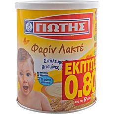 Παιδική κρέμα ΓΙΩΤΗΣ φαρίν λακτέ (300g)