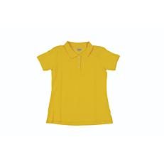 Μπλούζα ZEDEM γυναικεία πόλο κοντομάνικη κίτρινη