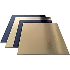 Δίσκος ζαχαροπλαστικής χάρτινος χρυσός, μαύρος 30x40cm 10kg