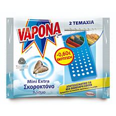 Σκοροκτόνο VAPONA extra foil -0,60€ (2τεμ.)