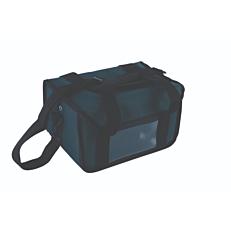 Ισοθερμική τσάντα καφέ 6 θέσεων κόκκινη 32x22x20cm