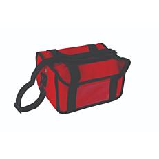 Ισοθερμική τσάντα καφέ 6 θέσεων πράσινη 38x22x20cm