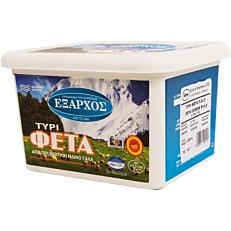 Τυρί ΕΞΑΡΧΟΣ φέτα (1kg)