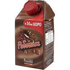 Γάλα ΡΟΔΟΠΑΚΙ με κακάο (500ml+50ml ΔΩΡΟ)