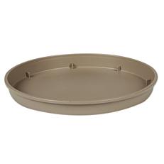 Πιάτο LINEA γλάστρας γκρι, καφέ 30x41cm