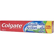 Οδοντόκρεμα COLGATE triple action (75ml)