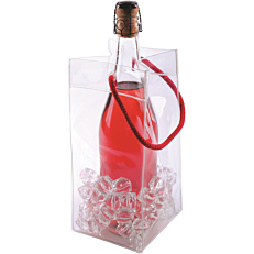 Cooler Ice Bag κόκκινο 11x11x25cm