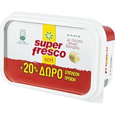 Μαργαρίνη ΕΛΑΪΣ super fresco soft +20% ΔΩΡΕΑΝ προϊόν (250g)