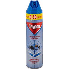 Εντομοαπωθητικό BAYGON blue -0,50€ (400ml)