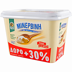 Μινερβίνη ΜΙΝΕΡΒΑ με βούτυρο γάλακτος +30% ΔΩΡΕΑΝ προϊόν (400g)
