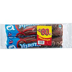 Μπισκότα ΑΛΛΑΤΙΝΗ γεμιστά με κακάο -0,80€ (2x220g)