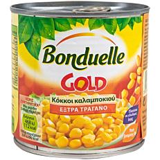 Κονσέρβα BONDUELLE καλαμπόκι σε κόκκους έξτρα τραγανό gold (340g)