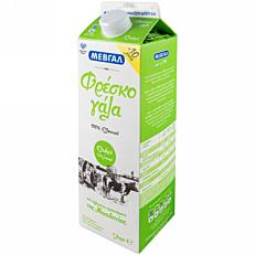 Γάλα ΜΕΒΓΑΛ φρέσκο ελαφρύ 1,5% λιπαρά -0,10€ (1lt)