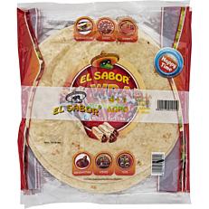 Τορτίγια EL SABOR BIG WRAPS 25cm (5x4τεμ.)