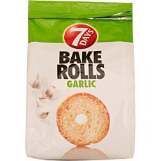 Αρτοσκεύασμα 7DAYS BAKE ROLL σκόρδο (160g)